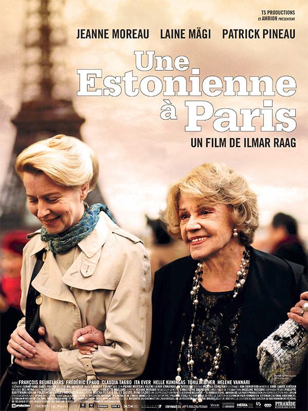 Affiche du film UNE ESTONIENNE A PARIS