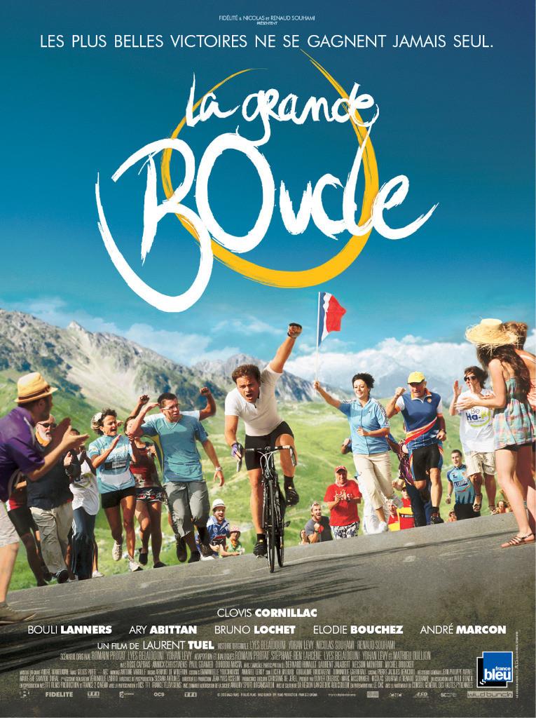 Affiche du film LA GRANDE BOUCLE