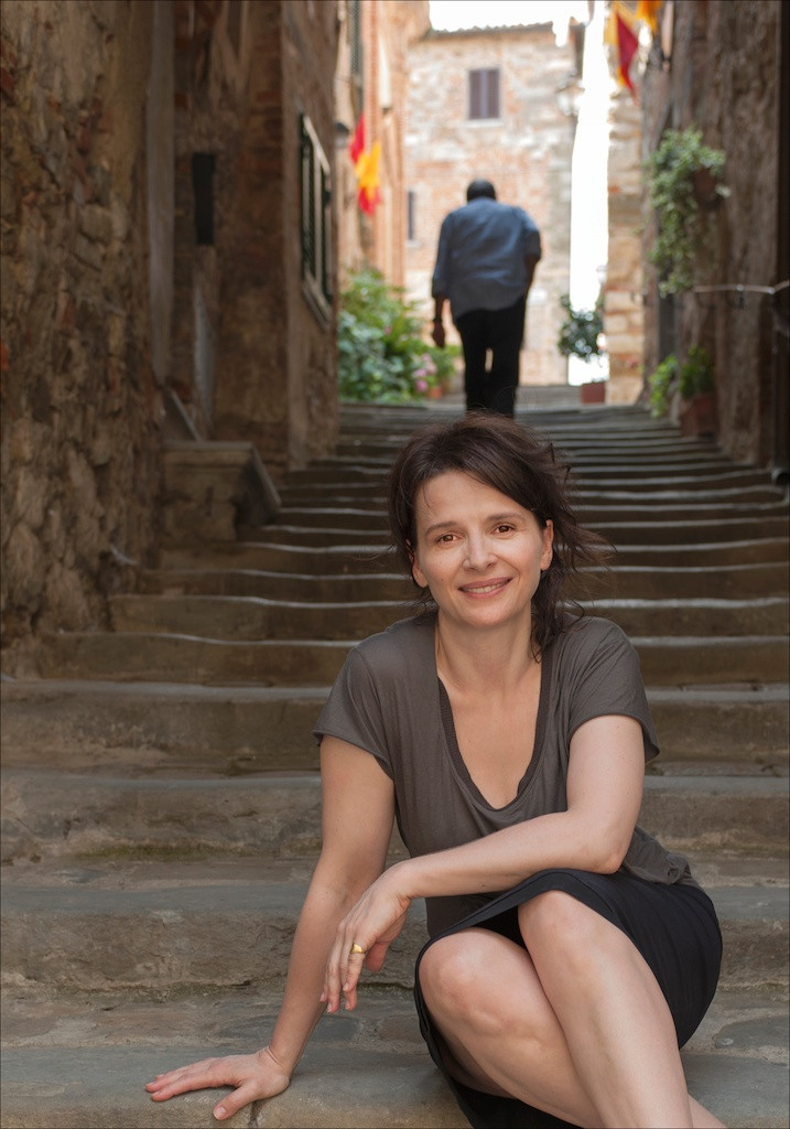 Juliette Binoche (Toscane, 2010)