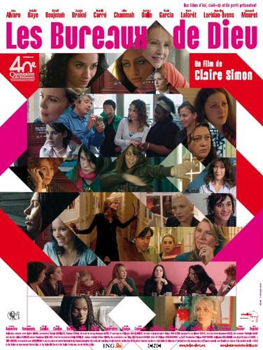 Affiche du film LES BUREAUX DE DIEU
