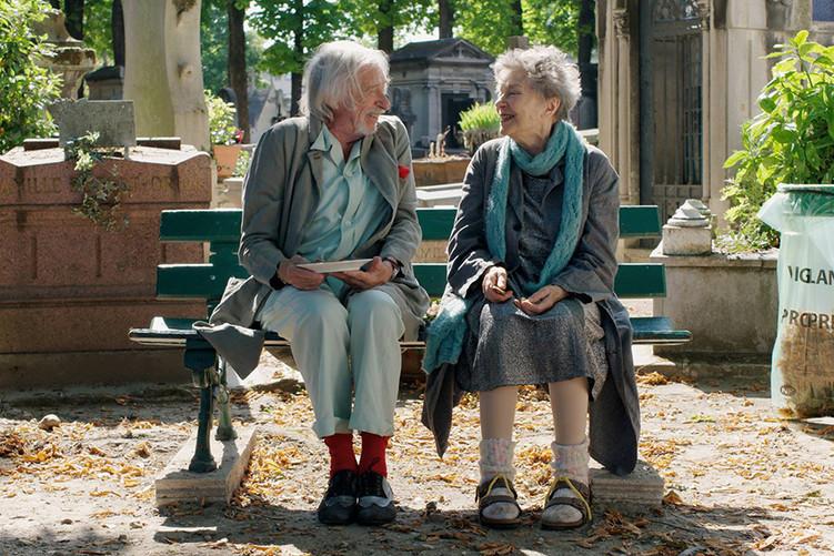 Pierre Richard et Emmanuelle Riva, PARIS PIEDS NUS