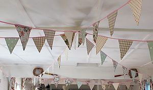 Why not festoon your garden with our wonderful Summer Picnic bunting.