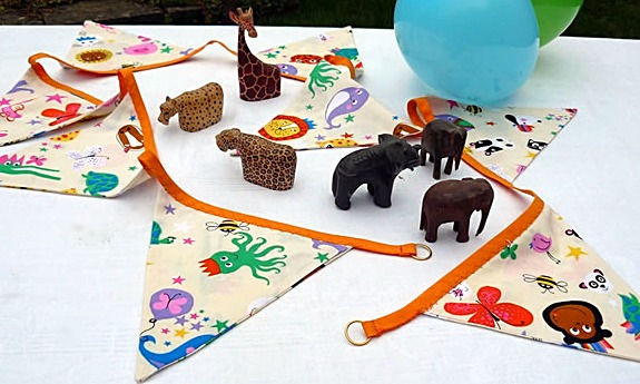 Our Animal Crackers bunting is sure to delight little ones...