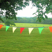 Capture all the fun of the fair with our brightly coloured Carnival bunting.