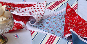 Our red, white and blue Country Fayre bunting is simply perfect for any party.