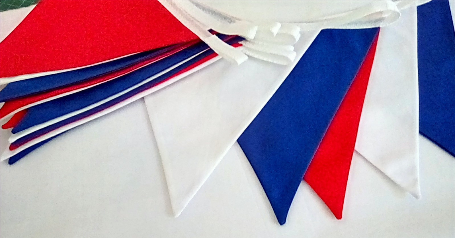 Red, White & Blue Hire Bunting