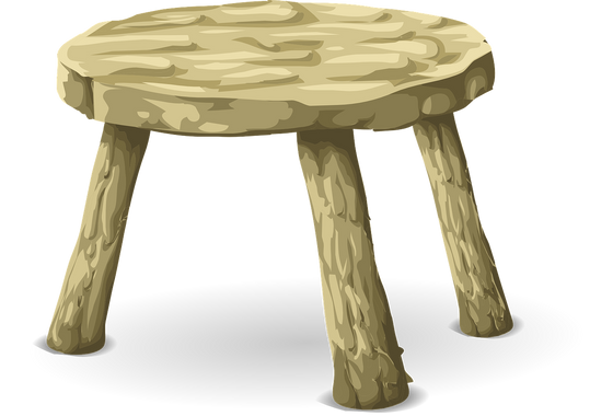 Life Is Like A Three Legged Stool:  Work, Love and Friendship