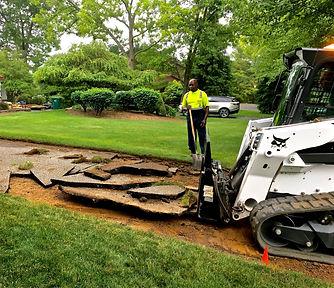 Superior Asphalt, Inc. Driveway Site Preperation