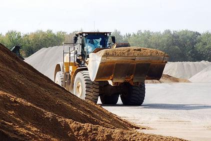 Superior Asphalt, Inc. Loading Raw Materials At Asphalt Plant