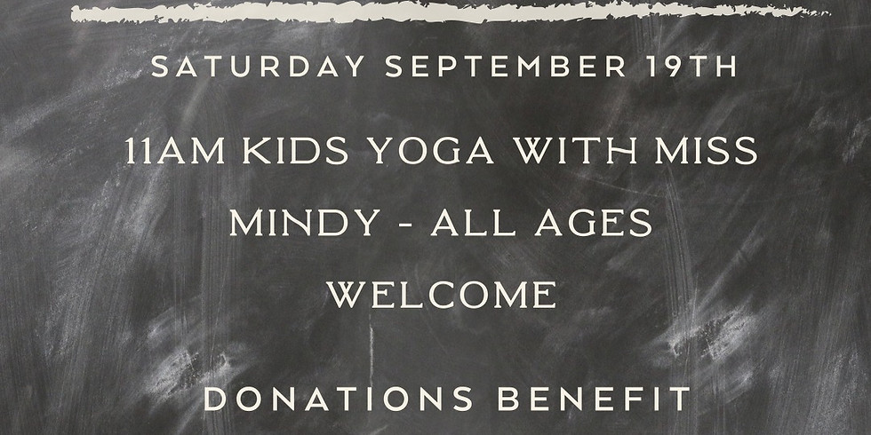 Kids Yoga for School Supplies