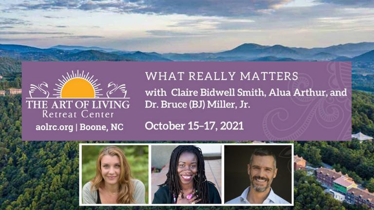 In-Person Retreat: BJ Miller, Claire Bidwell-Smith & Alua Arthur