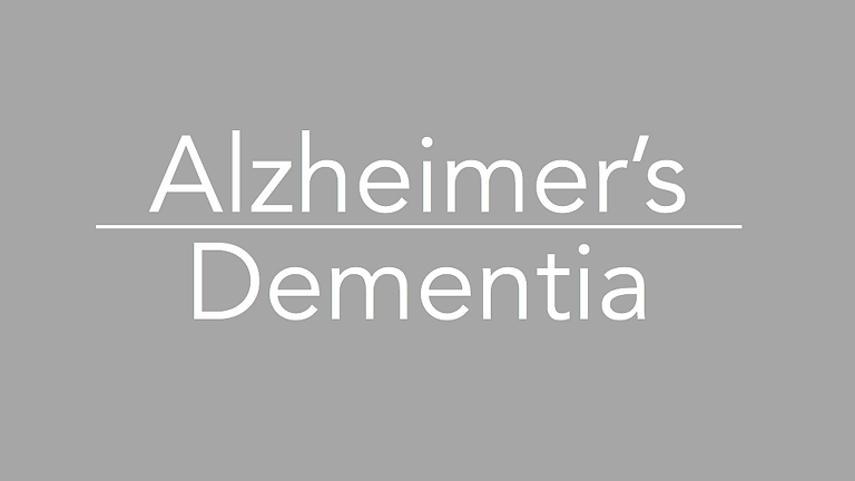 Living with Alzheimer's or Other Kinds of Dementia