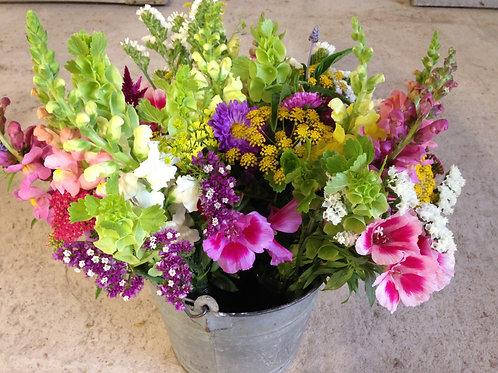 Bucket of Blumes SUBCRIPTION (sample photo)