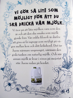 Relansering av Åsens Mjölk