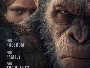 War for the Planet of the Apes FILM REVIEW