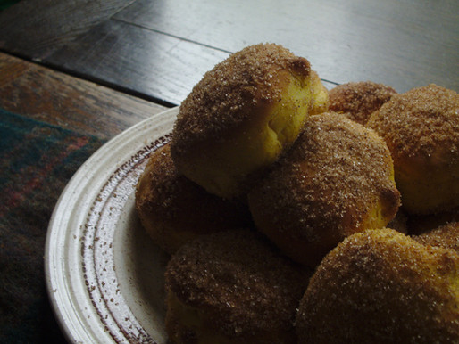 Baked Sugar Cinnamon Pumpkin Donuts