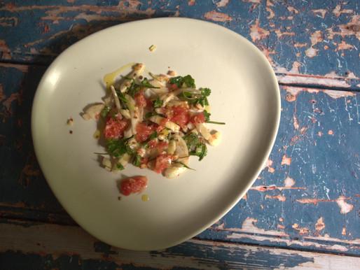 Grapefruit, Fennel & Herb Salad