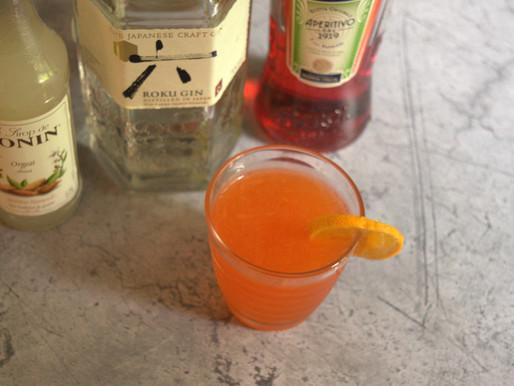 Neon Satsuma Cocktail