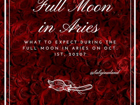 Full Moon in Aries Oct. 1st, 2020