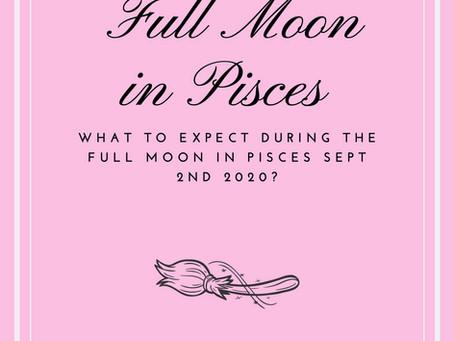 Full Moon in Pisces on September 2nd, 2020