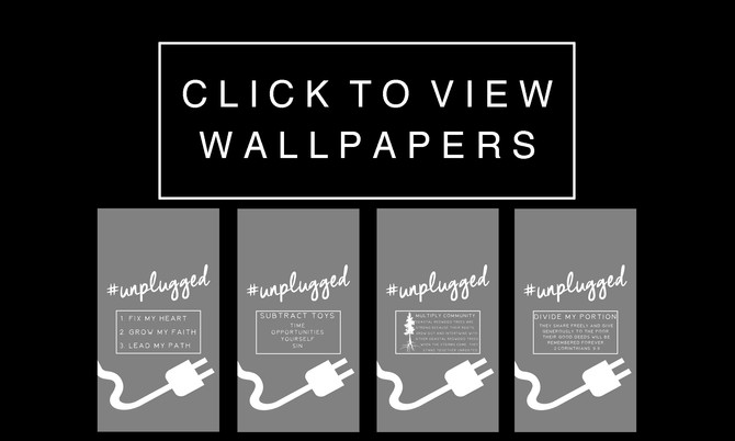 Free Phone Wallpapers // #Unplugged