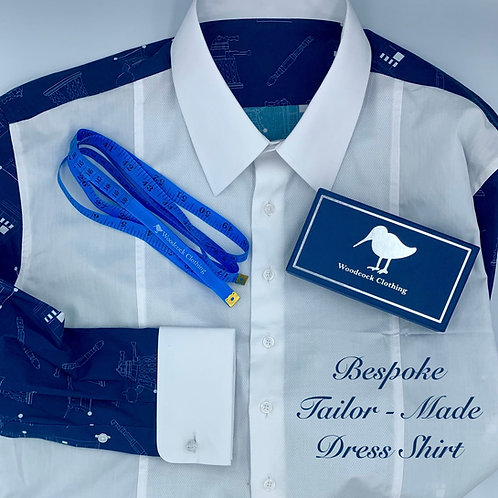 Tailor-Made Bespoke Dress Shirt (Design Your Own)