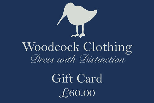 Gift Card - £60.00