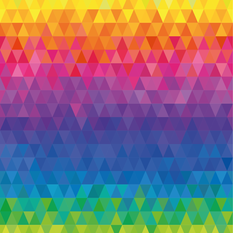 Multicolour Triangles Design.png