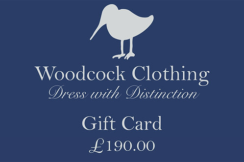 Gift Card - £190.00