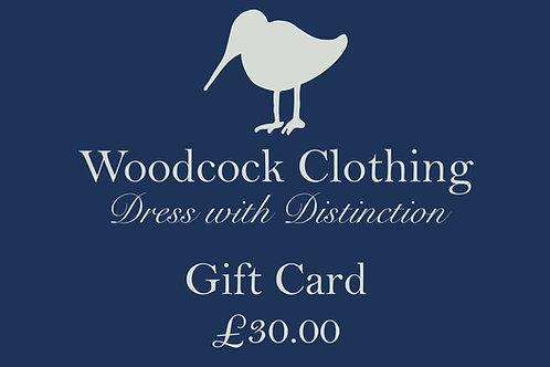 Gift Card - £30.00