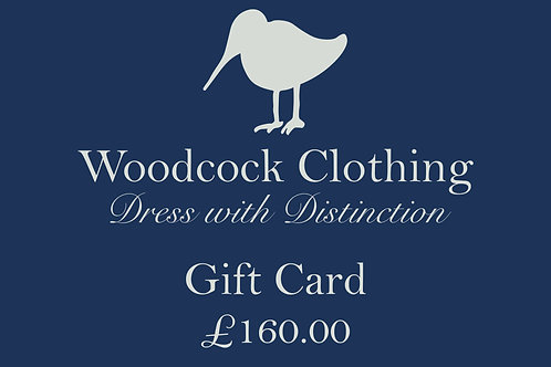 Gift Card - £160.00