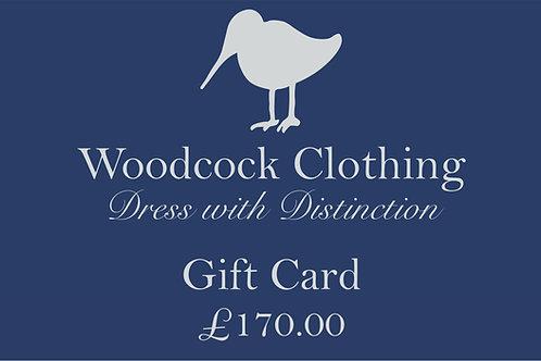 Gift Card - £170.00