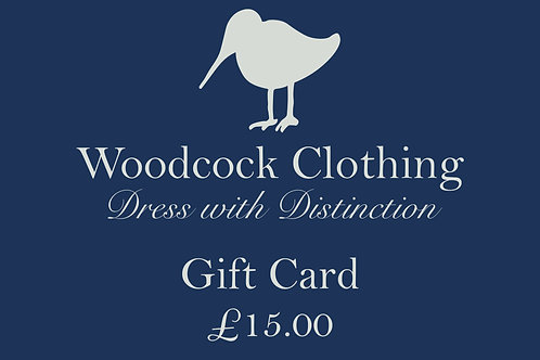 Gift Card - £15.00