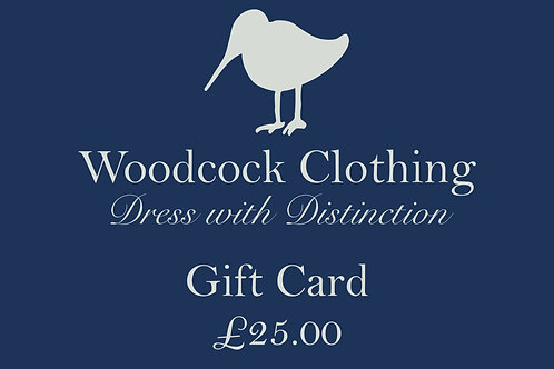 Gift Card - £25.00