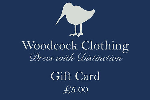 Gift Card - £5.00