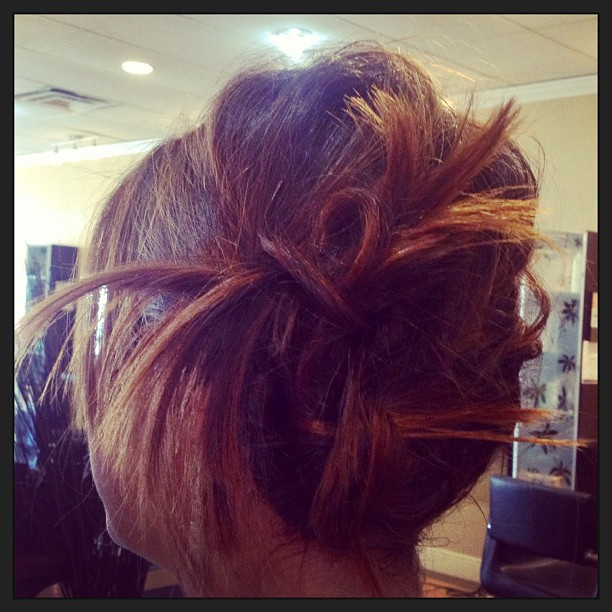 #twistedhair #tiedup #updo #twistitup #knots