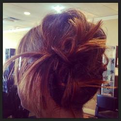 #twistedhair #tiedup #updo #twistitup #knots