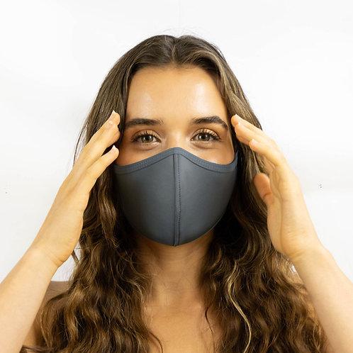 T19 Grey Heather Adjustable Mask
