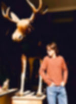 ted in france with a moose.jpg