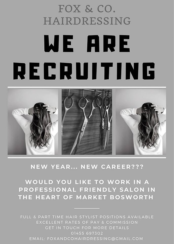 Salon Recruitment