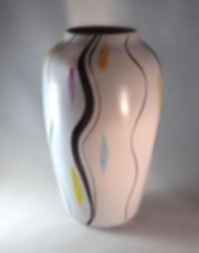 Mid Century West Geman Vase