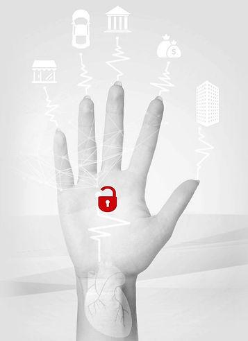 Assinatura Biométrica Vascular GESEG Sistema de Gestão de EPI