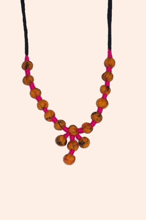 1 set neckpiece-Orange