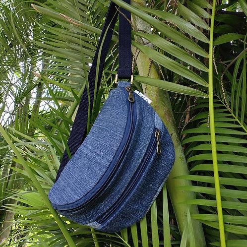Fanny pack/Waist pouch- 3 zips
