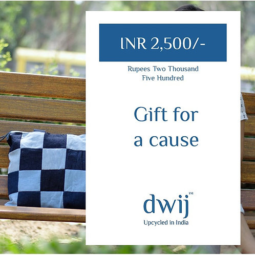 Gift Card INR 2500