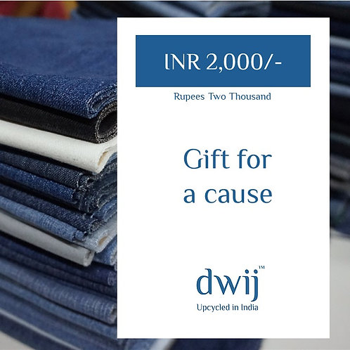 Gift Card INR 2000