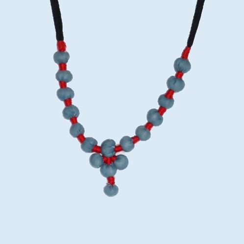 1 set neckpiece-Blue