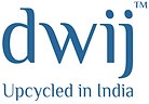 dwij Upcycled in India logo
