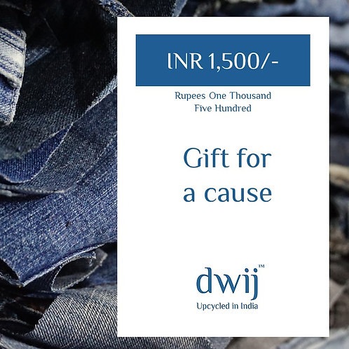 Gift Card INR 1500