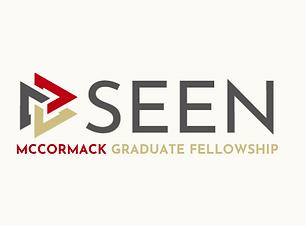 SEEN-McCormack Graduate Fellowship Logo